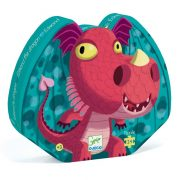 Edmond a sárkány - Formadobozos puzzle 24 db-os - Edmond the dragon