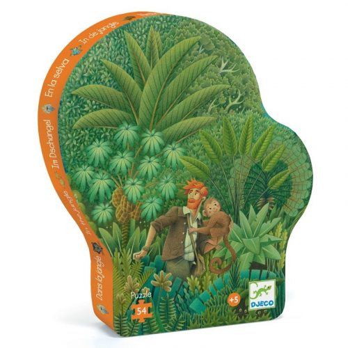 Dzsungelben - Formadobozos puzzle 54 db-os - In the Jungle