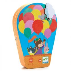 Hőlégballon - Formadobozos puzzle 16 db-os - The hot air balloon