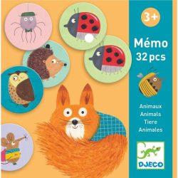 Erdei állatok memória - Memória játék - Memo Animals