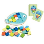 Mozaik halacska - Mozaikoló - Mosa Color - Djeco