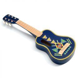 6 húros Gitár - Gyermek gitár - Guitar 6 metallic ropes - Djeco