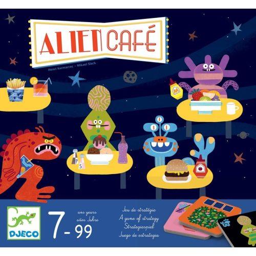 Alien café - Társasjáték - Alien café - Djeco