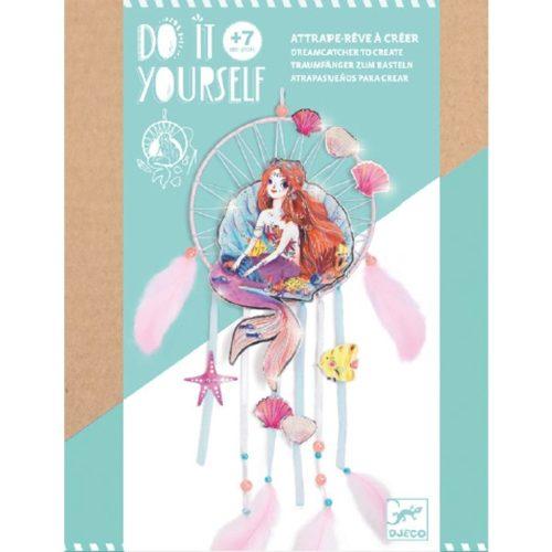 Hableányos álomőrző - Csináld magad - Gentle mermaid - Djeco