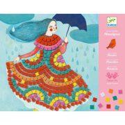 Kislány az esőben - Mozaik készítő - Party dresses - Djeco