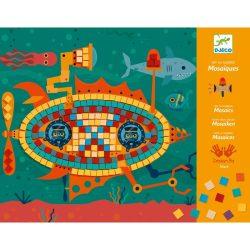 Járművek - Mozaik készítő - Ace at the wheel - Djeco