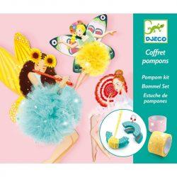 Tündér pom-pom - Pom-pom készítő - Fairy Pompoms - Djeco