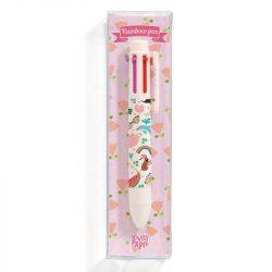 Tinou szivárvány tolla - 6 színű toll - Tinou rainbow pen (6 colors) - Djeco