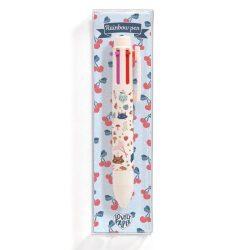 Lucille szivárvány tolla - 6 színű toll - Lucille rainbow pen (6 colors) - Djeco
