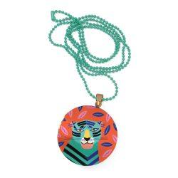 Tigris nyaklánc - Gyermek ékszer - Feline - Lovely surprise - Djeco