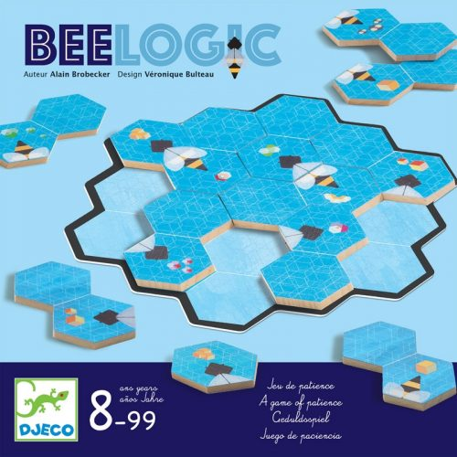 Bari logika haladóknak - Logikai játék - Bee Logic - Djeco