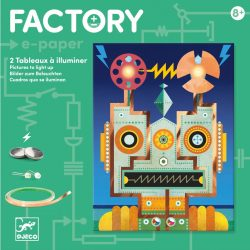 Robotok - Elekronikai képalkotás Leddel - Cyborgs - Djeco