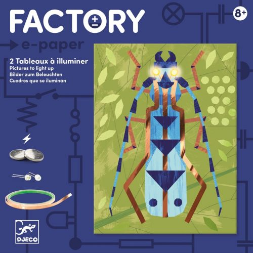 Rovarok - Elekronikai képalkotás Leddel - Insectarium - Djeco