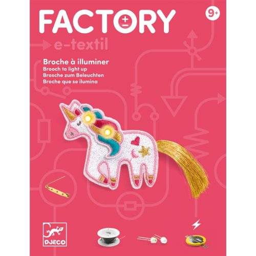 Unikornis - Elektronikus kitűző - Brooch - Sweet unicorn - Djeco