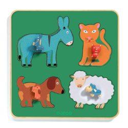Szem előtt a kicsinyek - Formabeillesztő - Family Farm - DJ01061