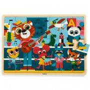 Dzsungel koncert - Fa puzzle 35 db - Puzzlo Music - DJ01817