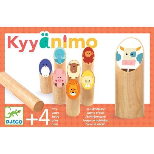 Állatos célbadobó - Fa ügyességi játék - Kyyänimo - DJ02040