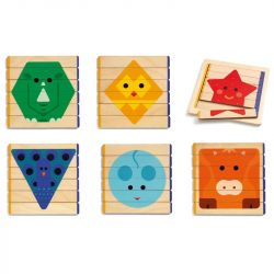 Léces építő - Puzzle - Puzzles Basic - DJ06211