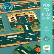 Autópálya - Óriás puzzle 21 db - Roads - DJ07162