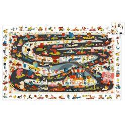 Rally pálya - Megfigyelő puzzle 54 db - Car rally - DJ07564