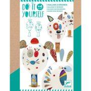 Mókás állatfejek - Csináld magad lufival - Animal balloons - DJ07910
