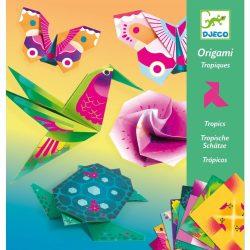 Trópusi élet - Papír hajtogatás - Tropics - DJ08754