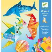 Tengeri élet - Papír hajtogatás - Sea creatures - DJ08755