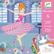 Táncosok - Képakotás papírcsíokoból - Dancers - DJ09444