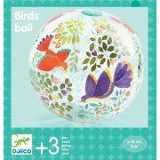 Madárkás textilhuzat lufira - Utazó labda - Birds ball - DJ00171