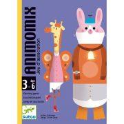 Állati zűrzavar - Rakosgató kártyajáték - Animomix - DJ05146