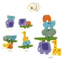 Egyensúlyozó építőjáték szavanna - Társasjáték - Ze Totanimo - DJ06434