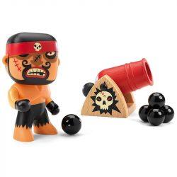 Kalóz ágyúval - Arty toys - Pirates - Rick & Boumcrack - DJ06834