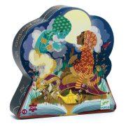 Varázslatos Aladdin - Formadobozos puzzle - Aladdin - DJ07281