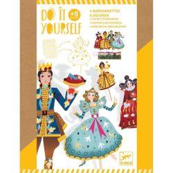 Hamupipőke bábkészítő - Csináld magad - Cinderella - DJ07991