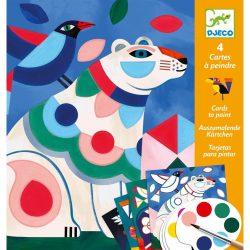 Barátságos besták - Képalkotás festéssel - Fanciful bestiary - DJ09658