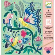 Fantázia kert - Képalkotás karc technikával - Fantasy garden - DJ09719