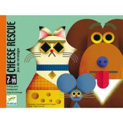 Sajt mentő akció - Kártyajáték - Cheese rescue - Djeco - DJ05149