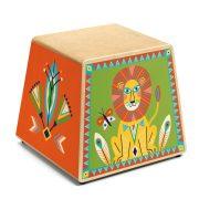 Perui doboz dob - Gyermekhangszer - Cajon - Djeco - DJ06014