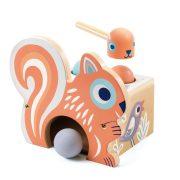 Kalapálós mókus - Kalapálós játék - BabyNut - Djeco - DJ06124