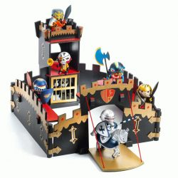 Lovagi fekete kastély - Arty toys - Knights - Ze Black Castel - Djeco - DJ06749