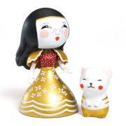 Hercegnő cicával - Arty toys - Princesses - Mona & Moon - Djeco - DJ06785