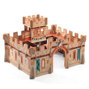 Középkori vár - Építő játék - Medieval castle - Djeco - DJ07714