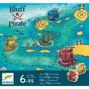 Bluff Pirate - Blöffölős társasjáték - Bluff Pirate - Djeco - DJ08417