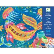 Élet az óceánban - Kreatív készlet - Design with paper - Djeco - DJ09347