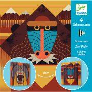 Egzotikus állatok - Hajtogatás - Wildlife - Djeco - DJ09445