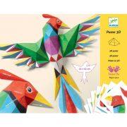 Paradicsommadár - Hajtogatás - Amazonie - Djeco - DJ09448
