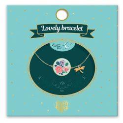Virág és szitakötő - Gyermek ékszer - Flowers - Lovely bracelet - Djeco - DD03834