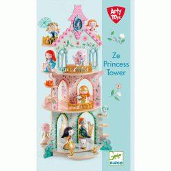 Hercegnők kastélya - lányos építőjáték - Ze princess Tower - Djeco - DJ06787
