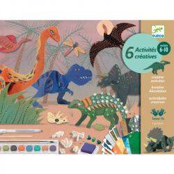 Dinóvilág - 3D kreatív szett - The world of dinosaurs - Djeco - DJ09331
