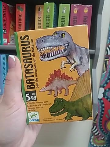 dinós kártyajáték kicsiknek